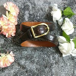 Joan & David Leather Belt